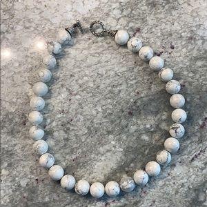 Tiffany Howlite bead necklace